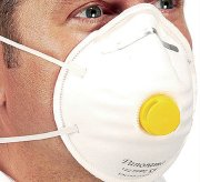 FFP2 Valved Disposable Respirators - Size: Pack of 10