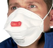 FFP3 Valved Disposable Respirators - Size: Pack of 5