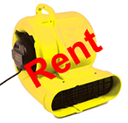 Hire Fire & Flood Damage Restoration Equipment