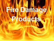 Fire Damage Restoration Products